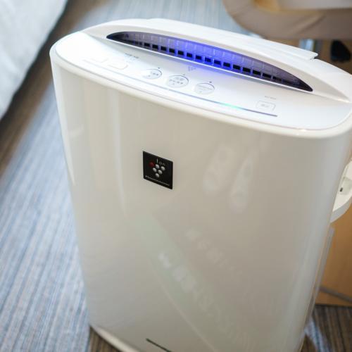 【加湿機能付空気清浄機】心地よい目覚めのために、空気に潤いとを