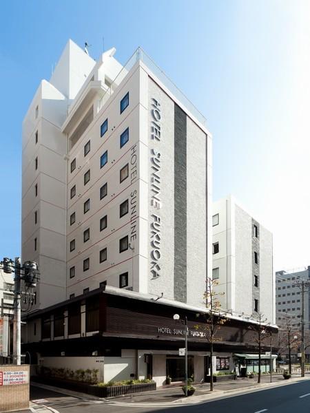 ホテルサンライン福岡外観