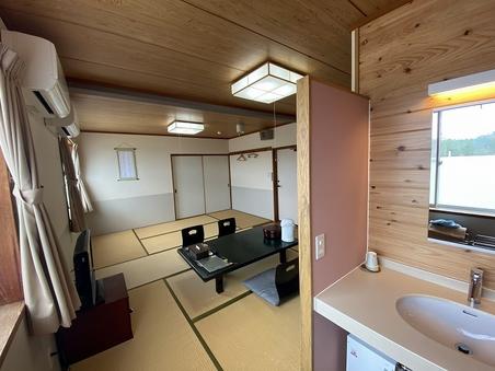 和室11畳(2〜4名)※バスなしトイレなし