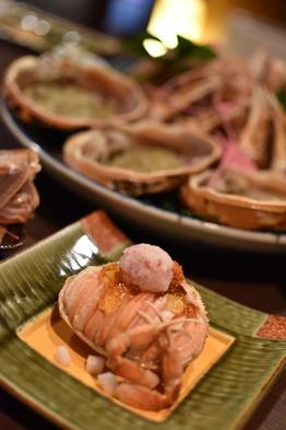 【活】松葉がに料理と丹後冬の味覚で創作会席を!「冬の丹後味わいコース」〜地ガニはお二人で約1杯使用〜
