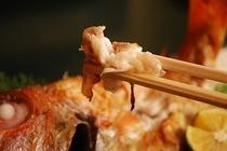 幻の高級魚「のど黒」の塩焼