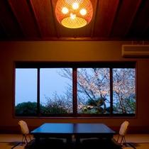 【梅・桃・竹の間】どこか懐かしく落ち着くそれぞれ趣きの異なるお部屋。