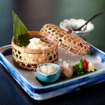 <夕食一例>最高の食材を、匠の技で丁寧に仕上げた逸品。