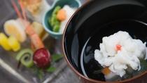 *<夕食一例>最高の食材を、匠の技で丁寧に仕上げた逸品。