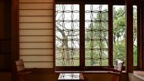 *【部屋】竹。控えにある竹細工の装飾が可愛いお部屋です