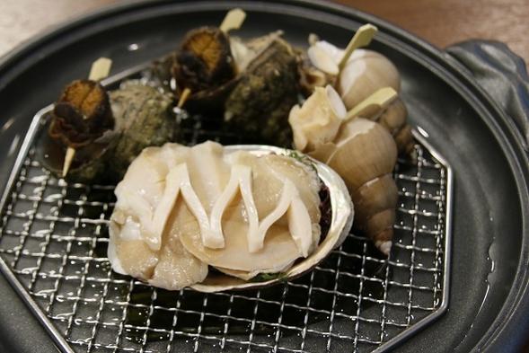 日本海で水揚げされた新鮮な旬の魚介類夕食おまかせ会席「お帰りなさい!おまんた待ってたよ」プラン