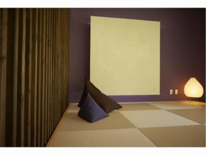 畳の部屋を完備