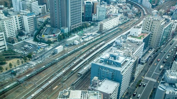 【トレインビュールームステイ】お子さまに人気の電車が見えるお部屋確約&駐車場無料(朝食付き)