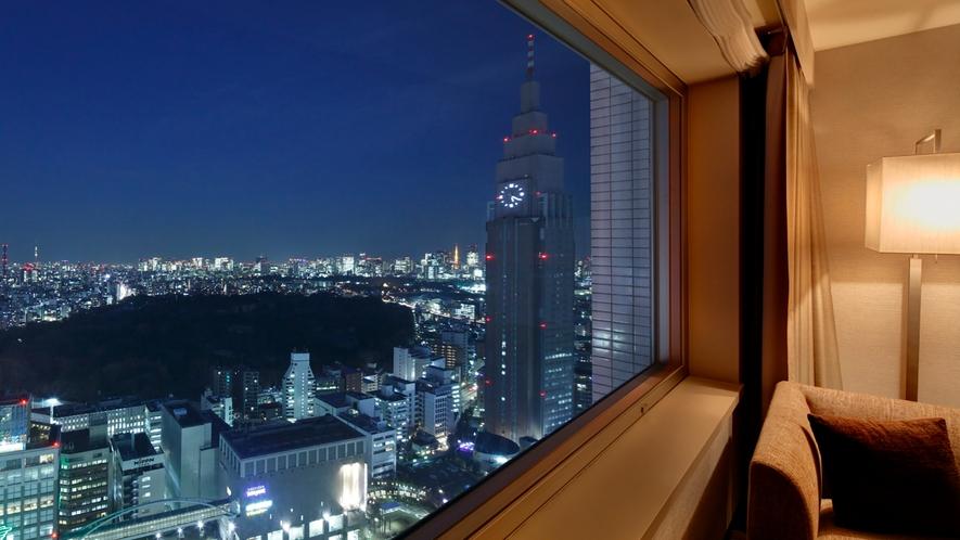 東側のお部屋からの夜景イメージ