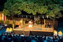 ホテルより徒歩約20分。氷川神社で毎年5月に開催される「大宮薪能」も有名です。