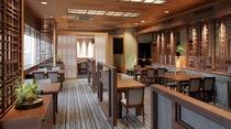 ■和食堂『欅』(けやき)■目と下で楽しむ四季折々の旬の素材をいかした和食堂はホテル2階