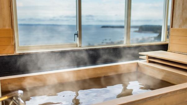 【最上階14階 禁煙室】和室ロイヤルスイートルーム 檜風呂付