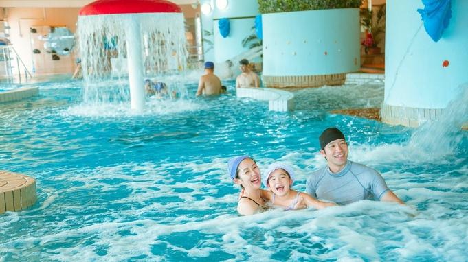 【スパ利用付き・朝食プラン】水着で楽しむ温泉クアパーク・温水プール&朝食バイキング(または和定食)