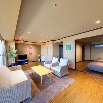【本館禁煙高層階11〜12階】5ベッド洋室指定|3〜5名