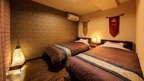 アジアンリゾートルーム ベッドルーム