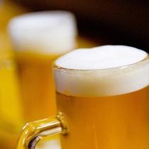 ビールも飲み放題!(イメージ)