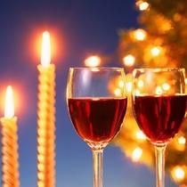ワイン、ビールなど飲み放題♪(イメージ)