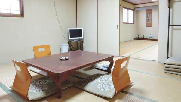 【2階/二間】和室8畳+12畳(バストイレなし)