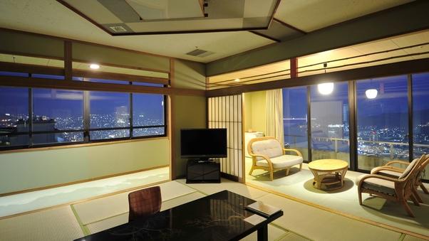 【特別室】和室2間続き12.5畳+6畳(63平米以上)