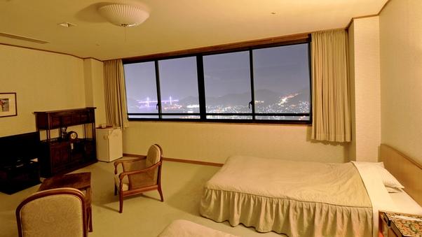 和洋室10畳+ツインベッド(63平米以上)