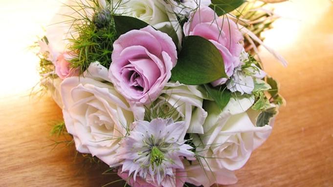 ◆【選べるサプライズ付】記念日プラン 選ばれるベスト3 ケーキ、花束、鯛の塩釜焼