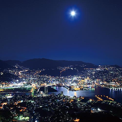 ◆スロープカーで行く!世界新三大夜景 稲佐山夜景ツアー♪
