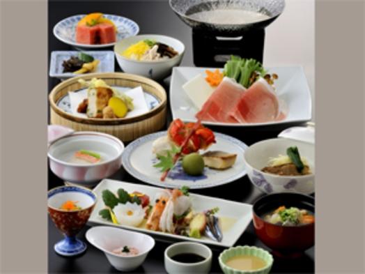 ■〜鹿児島の美味しさがぎゅっ!とつまった〜特選さつま会席プラン【夕食・朝食付/桜島側】