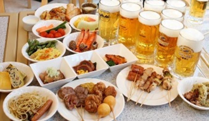 ◆みんなが笑顔でお迎えします!夏旅物語2021◆家族で楽しむビアガーデンプラン【夕食・朝食付
