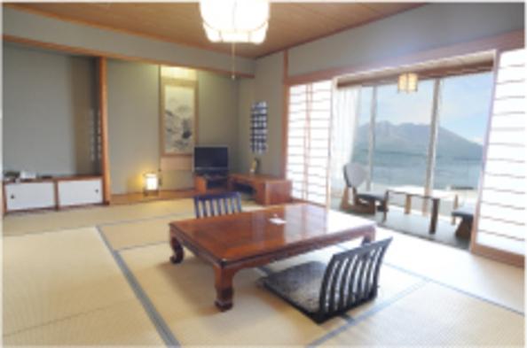 ■部屋数限定■和室でゆっくりプラン【食事なし/桜島側】