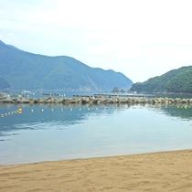 まるでプライベートビーチ(^♪西小川海水浴場
