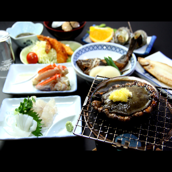 海鮮+あわび