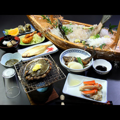 【GoToトラベル対象外】☆日帰り☆若狭スペシャル!! 海鮮舟盛り+あわび付きで若狭を食い尽くそう♪
