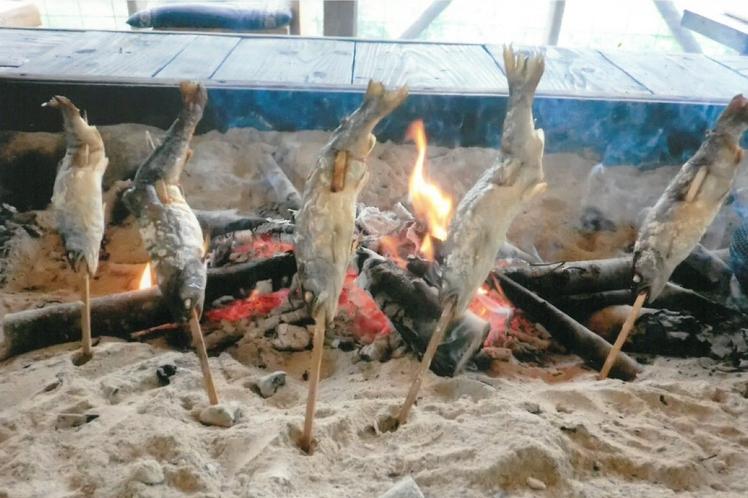囲炉裏一例