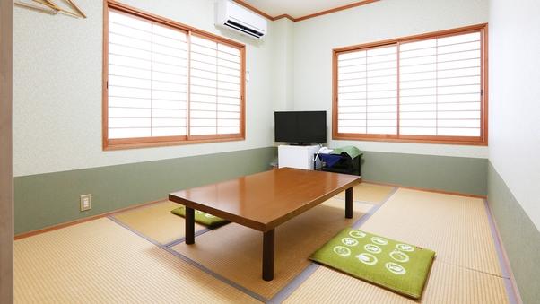 【禁煙】101号室 和室 6畳 角部屋