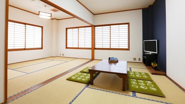 【禁煙】201号室 和室 13.5畳(7.5+6) 角部屋
