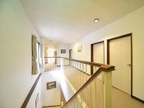 2階 客室前通路