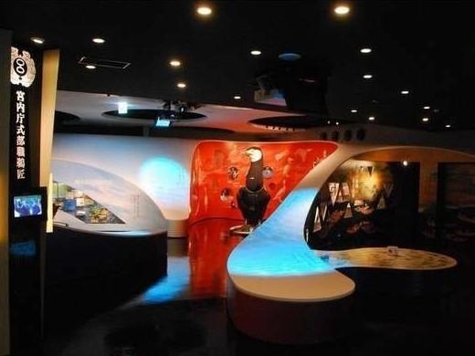 うかいミュージアム(旅館から100m)