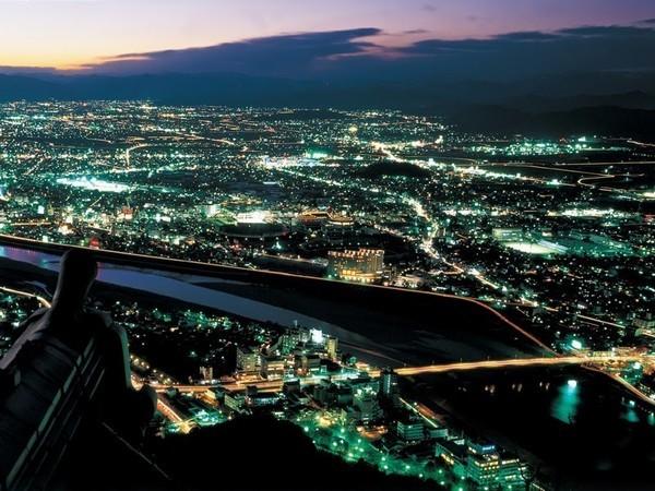 岐阜城からの夜景