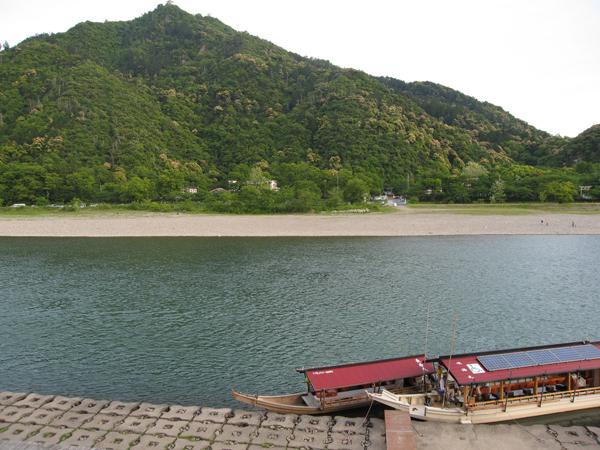 清流長良川と金華山と岐阜城2