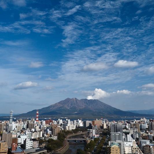 桜島側眺望