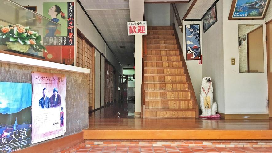 *【玄関】昭和47年創業。昭和の風情あふれるレトロな玄関です。