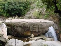 猿ヶ城渓谷 猿の踊り場
