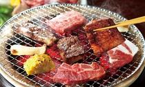 【夕食】森の中の焼肉(ワンドリンクつきます)