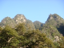猿ヶ城渓谷 刀剣山