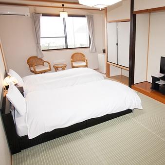 ツインタイプのベッドのお部屋(2階)