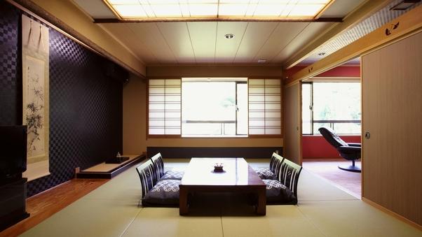 【3-4階・特別室】和室二間 合計18畳 73平米