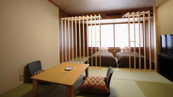 【最上階準特室・久遠倶楽部】和室+ベッド 38平米【禁煙】