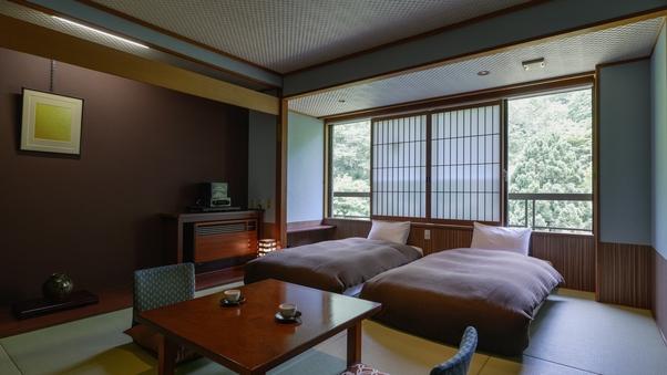 【5階・湯めぐり倶楽部】和室+ベッド38平米【禁煙】