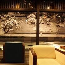 冬の風景【デザイナーズラウンジ】
