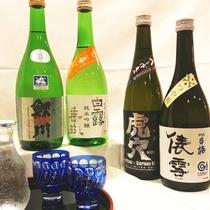 【地酒飲み比べ】4種の地酒を1杯づつ 飲み比べセットがオススメ